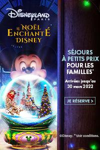 Réservez votre séjour féérique à Disneyland Paris avec Leclerc Voyages