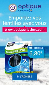 FlightPack Lentilles chez Optique E.Leclerc