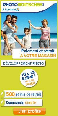 Développez vos photos moins cher avec E.Leclerc