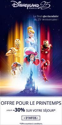 Disneyland Paris Pirates et Princesses -30% avec Leclerc Voyages