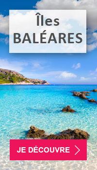 Voyages dans les Iles Baléares pas cher avec Voyages E.Leclerc