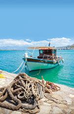 Séjour pas cher en Grèce, Caïque Crétoise