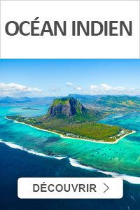 Réservez vos vacances dans l'Océan Indien avec Leclerc Voyages
