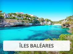 Réservez vos vacances d'été aux Baléares avec Leclerc Voyages