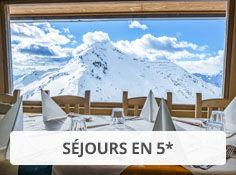 Réservez votre séjour 5* au ski avec Voyages Leclerc