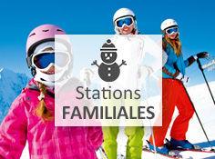 Réservez dans une stations de ski familliale