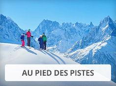 Stations de ski au pied des pistes avec Voyages Leclerc