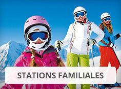 Réservez dans une station de ski familliale