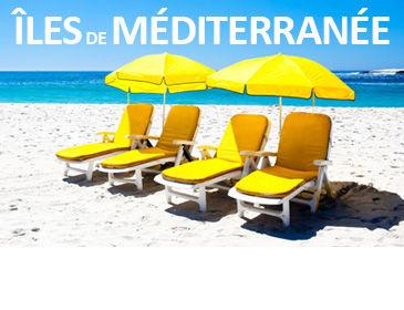 Séjours dans les îles de Méditerranée