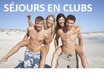 Séjours en clubs animés