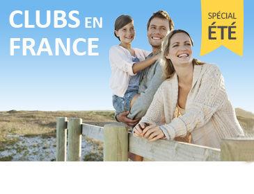 Séjours et locations en clubs en France