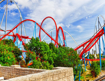 Retrouvez toutes nos offres pour les parcs d'attraction