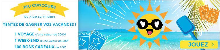 Jouez avec Voyages E.Leclerc et gagnez vos prochaines vacances