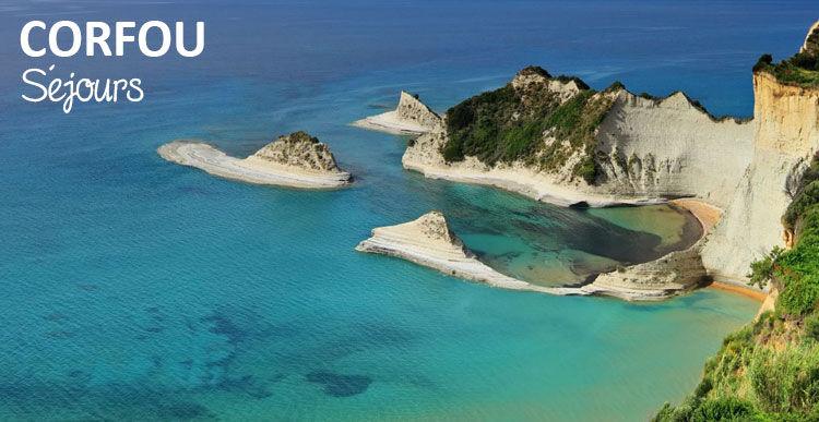 Séjours sur l'île de Corfou en Grèce