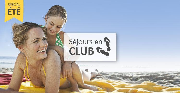 Partez en club de vacances cet été