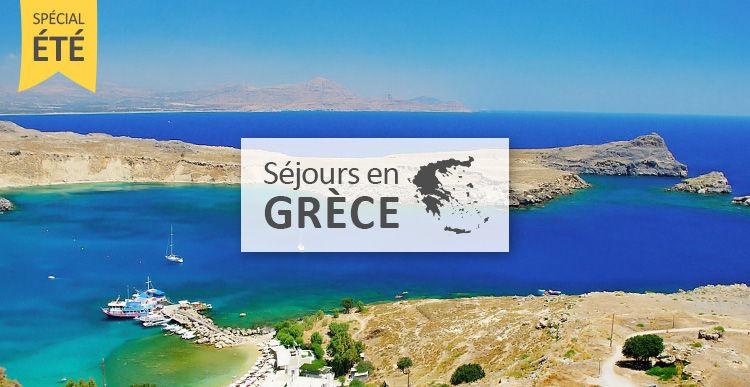 Séjour et circuit en Grèce pour cet été