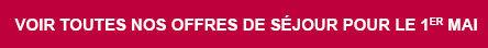 Découvrez les offres du 1er Mai avec Leclerc Voyages