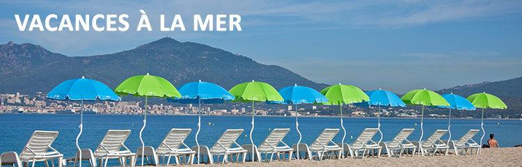 Vacances en Corse à la mer