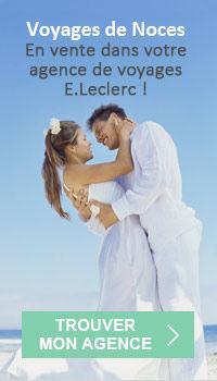 Voyages de Noces réservation dans votre agence de voyages E.Leclerc