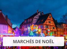 Visitez les marchés de Noël avec Leclerc Voyages
