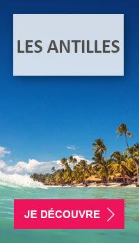 Voyage pas cher aux Antilles avec Voyages E.Leclerc