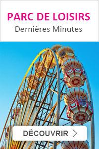 Dernière minute pour réserver votre séjour en parcs de loisirs pas cher en promo avec Leclerc Voyages