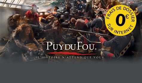 Sejour et week-end au Puy du Fou
