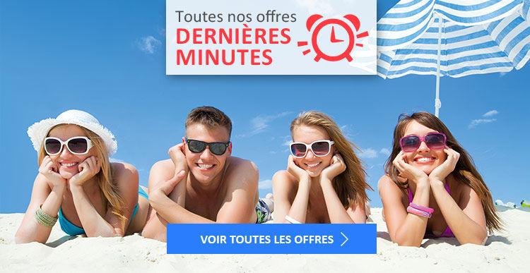 Réservez vos vacances d'été pas chères en dernières minutes avec Voyages E.Leclerc