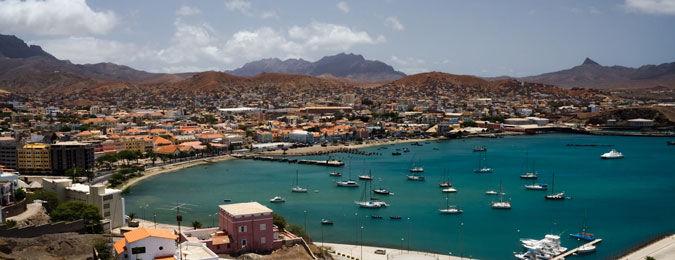 La ville de Praia au Cap-Vert
