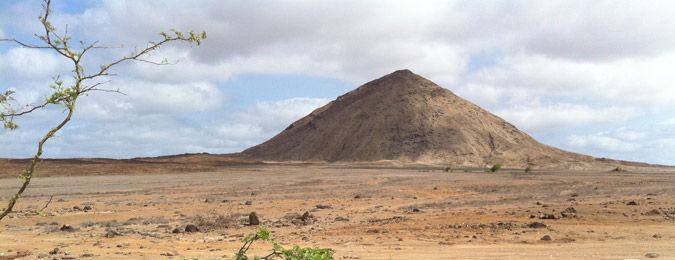 Volcan de l'île de Pico au Cap-Vert