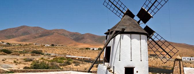 Vue de l'île de Fuerteventura aux îles Canaries