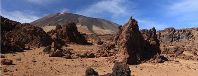 Volcan sur l'île de Tenerife aux Canaries