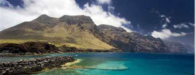 Côtes de l'île de Lanzarote aux Canaries