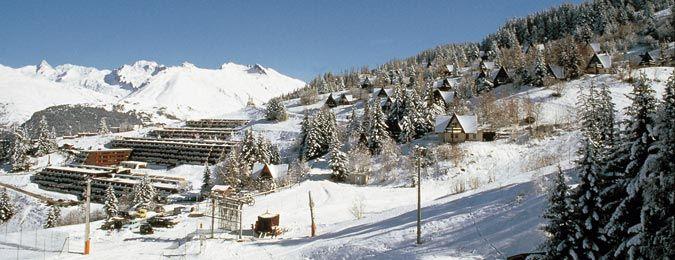 Les Arcs en hiver en Savoie