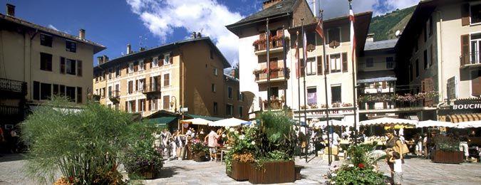 Le village des Arcs en Savoie