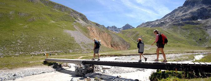 Chemins de randonnées de Méribel en Savoie