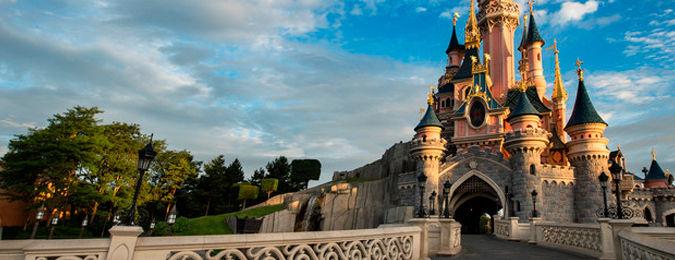 Le chateau de la Belle au Bois Dormant à Disneyland Paris