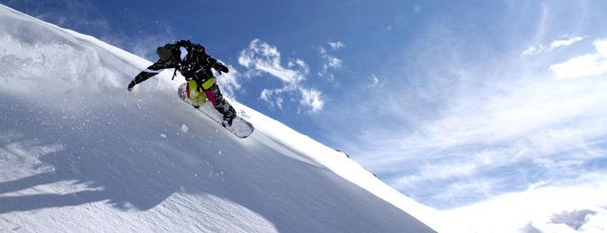 Domaine des Deux Alpes en hiver
