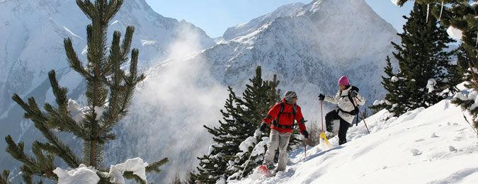 Les Deux Alpes durant l'hiver en Isère