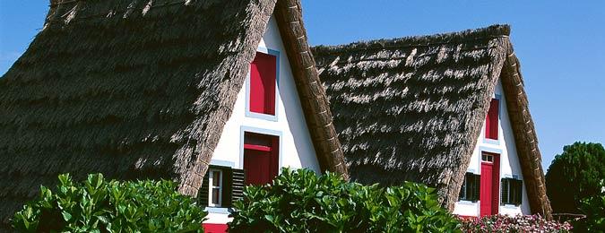 Maisons traditionnelles madéroise
