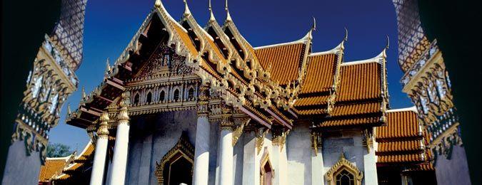 Temple du Wat Pho en Thaïlande