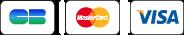 Moyens de paiement Cartes bancaires CB, Visa et MasterCard