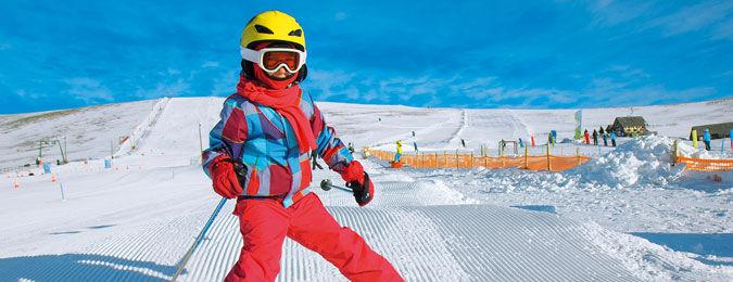 Séjour ski en famille. Classe de neige pour les petits