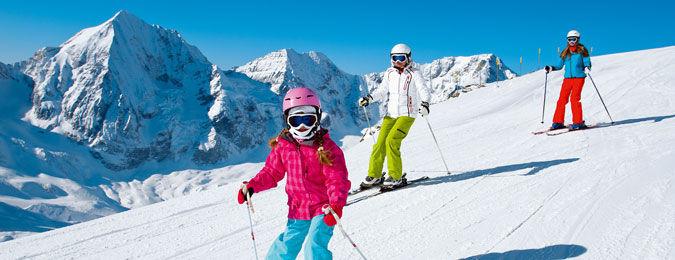 Location au ski en famille