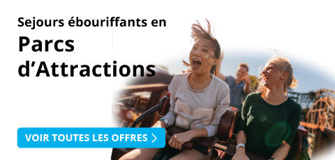 Week-ends en parcs d'attraction avec Leclerc Voyages