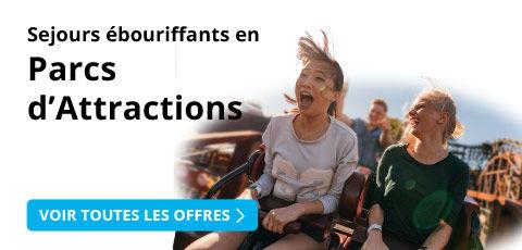 Week-ends en parcs d'attraction avec Leclerc Voyages