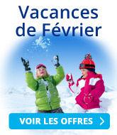 Vacances scolaires d'hiver de Février