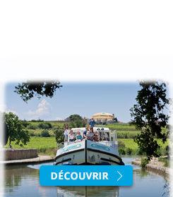 Bateau sans permis sur les canaux de France