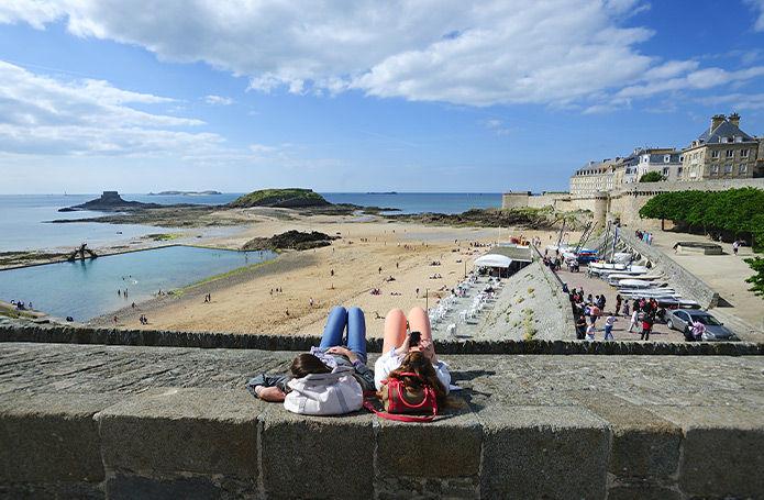 France - Bretagne - Saint Malo - Week-end à Saint-Malo
