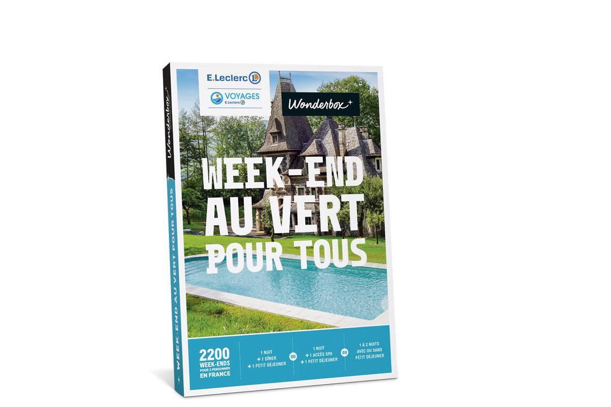 France - Coffret Cadeau Week-End au Vert pour Tous
